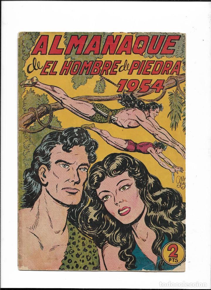 Tebeos: El Hombre de Piedra Colección Completa son 10 Almanaques Originales del Año 1952 al 1976 nuevos - Foto 5 - 195551026