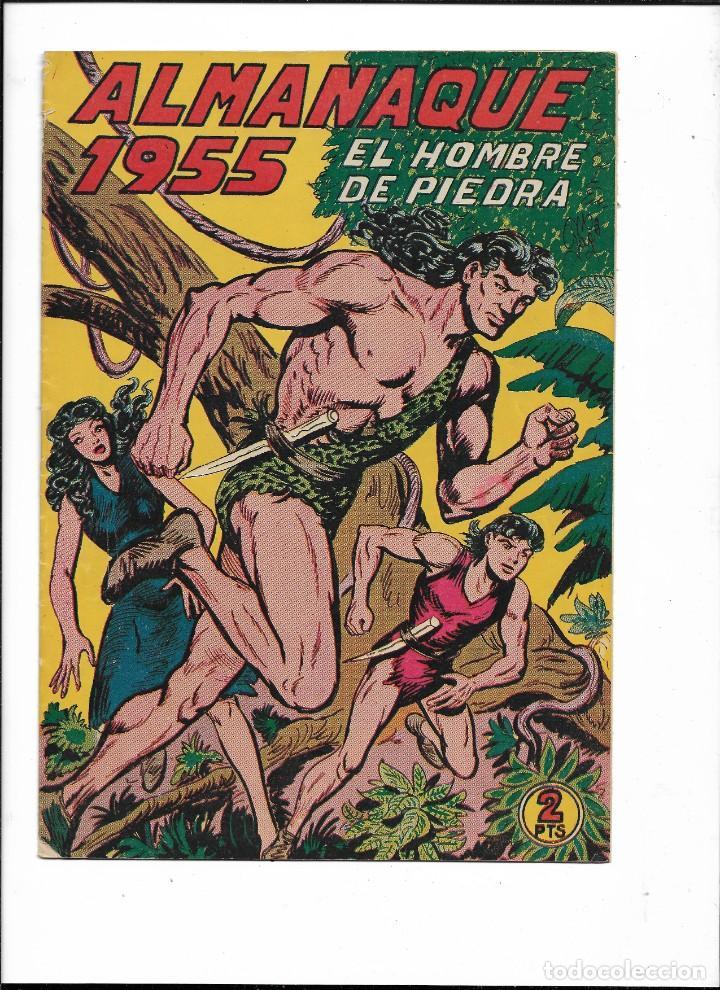 Tebeos: El Hombre de Piedra Colección Completa son 10 Almanaques Originales del Año 1952 al 1976 nuevos - Foto 7 - 195551026