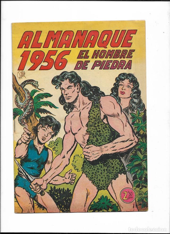 Tebeos: El Hombre de Piedra Colección Completa son 10 Almanaques Originales del Año 1952 al 1976 nuevos - Foto 9 - 195551026