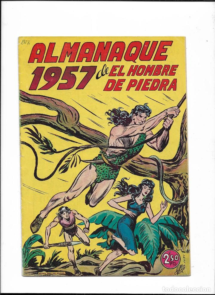 Tebeos: El Hombre de Piedra Colección Completa son 10 Almanaques Originales del Año 1952 al 1976 nuevos - Foto 11 - 195551026