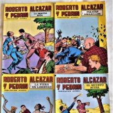 Tebeos: ROBERTO ALCAZAR Y PEDRIN Nº 146, 168, 170 Y 171 - 2º EPOCA - AÑO 1979 - TAPA BLANDA. Lote 195703993