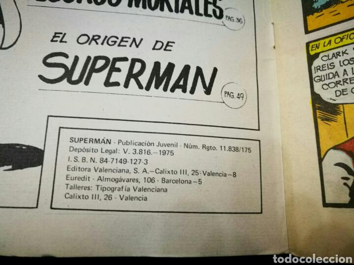 Tebeos: SUPERMAN ALBUN GIGANTE EDITORIAL VALENCIANA 6 MEJORES AVENTURAS - Foto 3 - 195917142