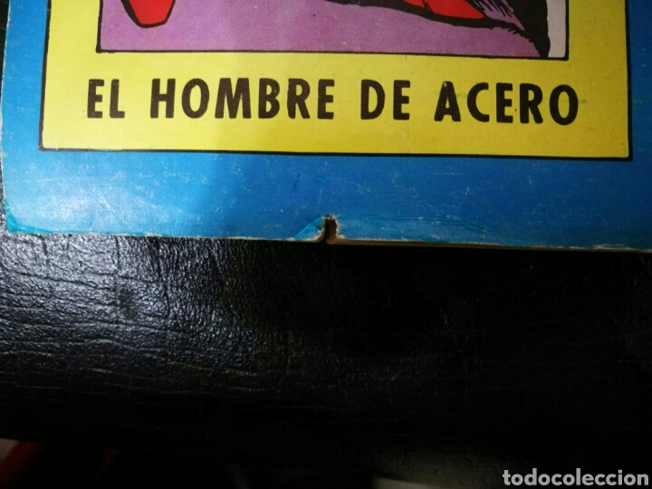 Tebeos: SUPERMAN ALBUN GIGANTE EDITORIAL VALENCIANA 6 MEJORES AVENTURAS - Foto 5 - 195917142