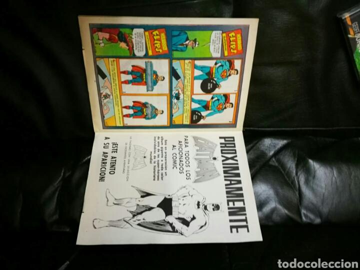 Tebeos: SUPERMAN ALBUN GIGANTE EDITORIAL VALENCIANA 6 MEJORES AVENTURAS - Foto 7 - 195917142