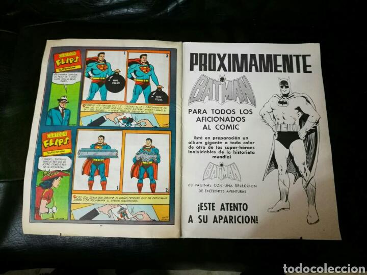 Tebeos: SUPERMAN ALBUN GIGANTE EDITORIAL VALENCIANA 6 MEJORES AVENTURAS - Foto 10 - 195917142