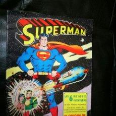 Tebeos: SUPERMAN ALBUN GIGANTE EDITORIAL VALENCIANA 6 MEJORES AVENTURAS. Lote 195917142