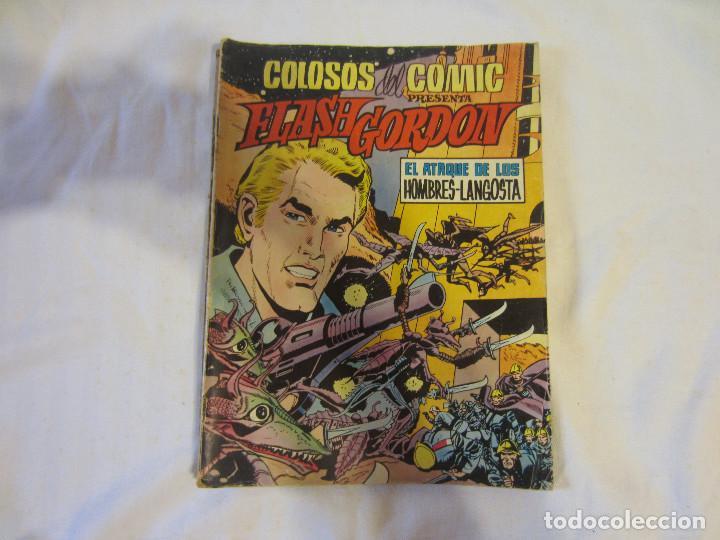 Tebeos: Colosos del Comic - Flash Gordon numeros 39, 45 y 70 - Foto 2 - 196215067