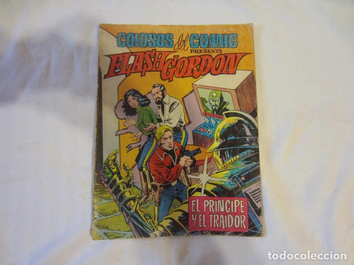 Tebeos: Colosos del Comic - Flash Gordon numeros 39, 45 y 70 - Foto 4 - 196215067