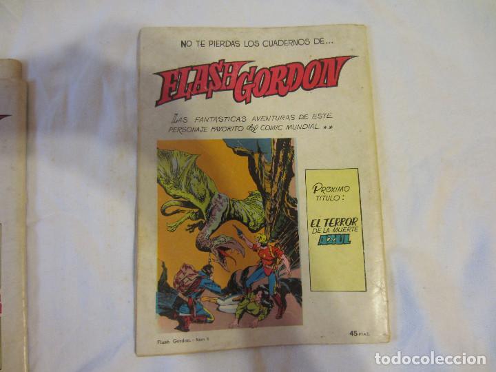 Tebeos: Colosos del Comic - Flash Gordon numeros 39, 45 y 70 - Foto 7 - 196215067