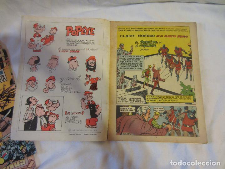 Tebeos: Colosos del Comic - Flash Gordon numeros 39, 45 y 70 - Foto 8 - 196215067