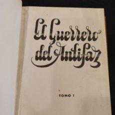 Livros de Banda Desenhada: TOMO 1 Y 2 EL GUERRERO DEL ANTIFAZ .EDITORIAL VALENCIANA. Lote 196266150