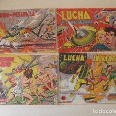 Tebeos: 4 EJEMPLARES DE HAZAÑAS DE LA JUVENTUD AUDAZ. Lote 196360048