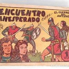 Tebeos: EL GUERRERO DEL ANTIFAZ Nº 18, ENCUENTRO INESPERADO. Lote 196724442