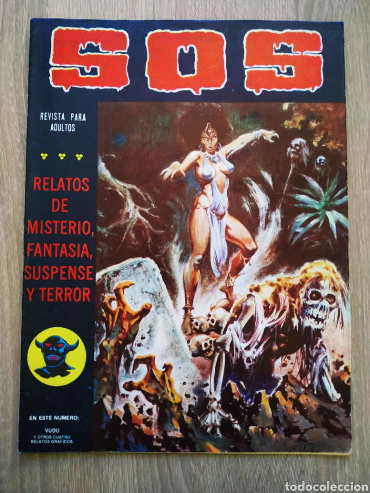 MUY BUEN ESTADO SOS 31 VALENCIANA SEGUNDA EPOCA (Tebeos y Comics - Valenciana - S.O.S)