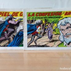 Tebeos: LOTE DE 2 TEBEOS DE EL ESPADACHIN ENMASCARADO.. Lote 196798947