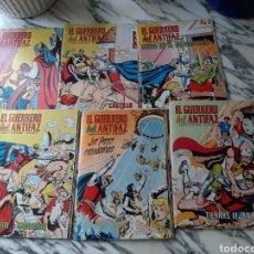 Tebeos: EL GUERRERO DEL ANTIFAZ - 122 PORTADAS - NÚMEROS 221 A 343 - AÑOS 1976 A 1978. Lote 196840765