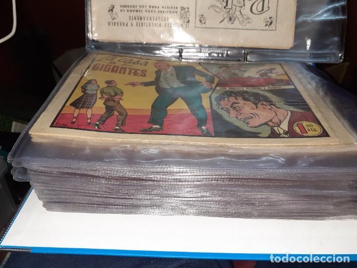 Tebeos: Lote de 68 tebeos Roberto Alcazar y Pedrín.Originales años 50.Ed.Valenciana. - Foto 2 - 196930436