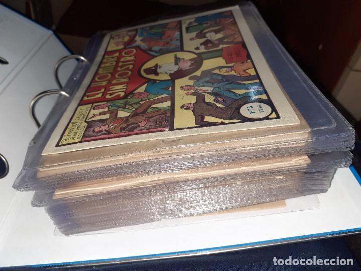 Tebeos: Lote de 68 tebeos Roberto Alcazar y Pedrín.Originales años 50.Ed.Valenciana. - Foto 3 - 196930436