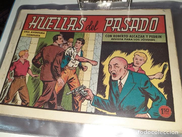 Tebeos: Lote de 68 tebeos Roberto Alcazar y Pedrín.Originales años 50.Ed.Valenciana. - Foto 6 - 196930436