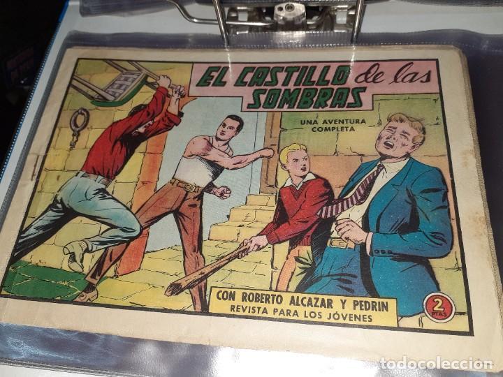 Tebeos: Lote de 68 tebeos Roberto Alcazar y Pedrín.Originales años 50.Ed.Valenciana. - Foto 7 - 196930436