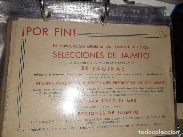 Tebeos: Lote de 68 tebeos Roberto Alcazar y Pedrín.Originales años 50.Ed.Valenciana. - Foto 11 - 196930436