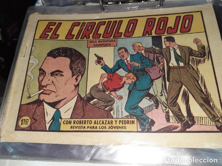Tebeos: Lote de 68 tebeos Roberto Alcazar y Pedrín.Originales años 50.Ed.Valenciana. - Foto 12 - 196930436