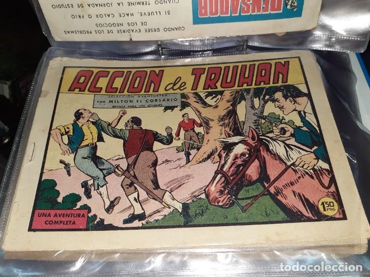 Tebeos: Lote de 68 tebeos Roberto Alcazar y Pedrín.Originales años 50.Ed.Valenciana. - Foto 13 - 196930436