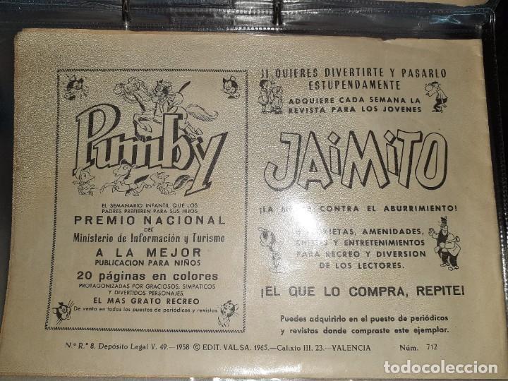 Tebeos: Lote de 68 tebeos Roberto Alcazar y Pedrín.Originales años 50.Ed.Valenciana. - Foto 14 - 196930436