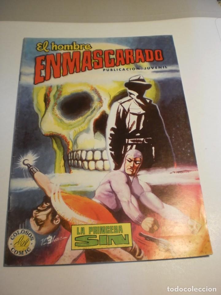 EL HOMBRE ENMASCARADO. Nº 22. LA PRINCESA SIN. COLOR. 1980 (BUEN ESTADO, SEMINUEVO) (Tebeos y Comics - Valenciana - Colosos del Comic)