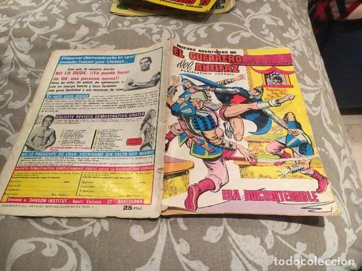 NUEVAS AVENTURAS DE EL GUERRERO LES ANTIFAZ - Nº 3 IRA INCONTENIBLE (Tebeos y Comics - Valenciana - Guerrero del Antifaz)