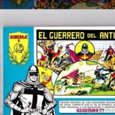 Tebeos: LOTE DE 4 TOMOS DEL GUERRERO DEL ANTIFAZ- NUM.1-2-3-Y 4. Lote 222108195