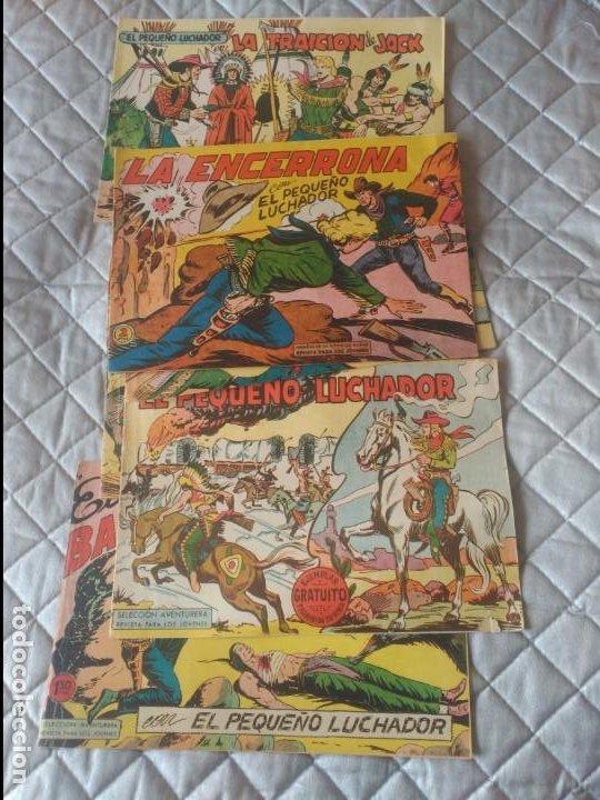 EL PEQUEÑO LUCHADOR 5 CÓMICS Nº1-2-17-59-120-129 EITORIAL VALENCIANA ORIGINALES (Tebeos y Comics - Valenciana - Pequeño Luchador)