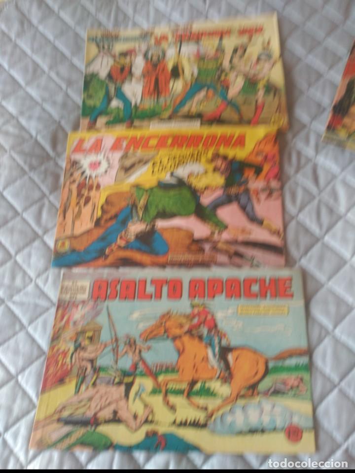 Tebeos: El Pequeño Luchador 5 cómics Nº1-2-17-59-120-129 Eitorial Valenciana ORIGINALES - Foto 2 - 197314915
