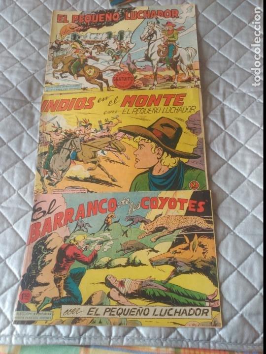 Tebeos: El Pequeño Luchador 5 cómics Nº1-2-17-59-120-129 Eitorial Valenciana ORIGINALES - Foto 3 - 197314915