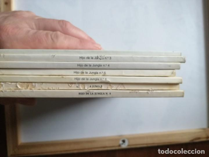Tebeos: 7 TOMOS DEL HIJO DE LA JUNGLA. - Foto 3 - 197395921
