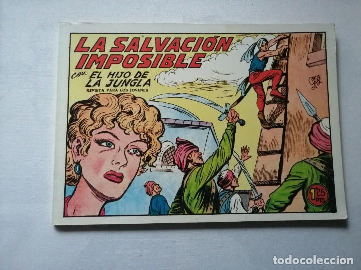 Tebeos: 7 TOMOS DEL HIJO DE LA JUNGLA. - Foto 7 - 197395921