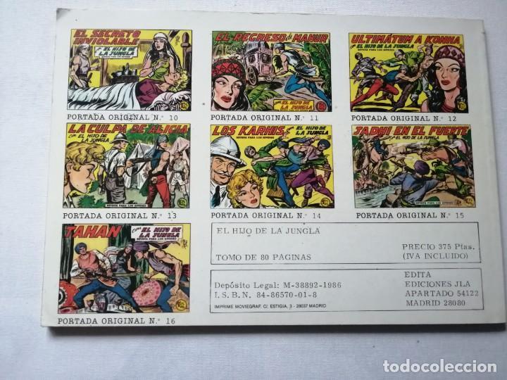 Tebeos: 7 TOMOS DEL HIJO DE LA JUNGLA. - Foto 8 - 197395921