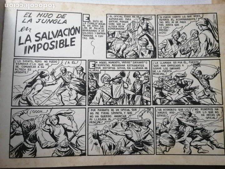 Tebeos: 7 TOMOS DEL HIJO DE LA JUNGLA. - Foto 9 - 197395921