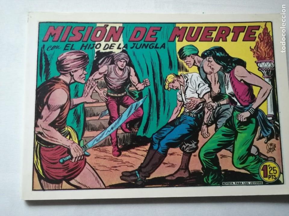 Tebeos: 7 TOMOS DEL HIJO DE LA JUNGLA. - Foto 11 - 197395921