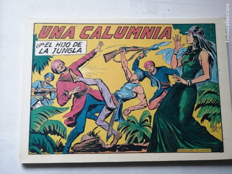 Tebeos: 7 TOMOS DEL HIJO DE LA JUNGLA. - Foto 15 - 197395921