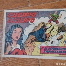 Tebeos: EL ESPADACHIN ENMASCARADO Nº 5 EDITORIAL VALENCIANA ORIGINAL. Lote 197597037