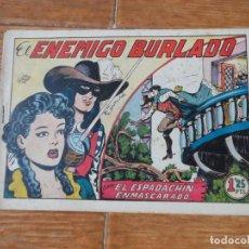 Tebeos: EL ESPADACHIN ENMASCARADO Nº 14 EDITORIAL VALENCIANA ORIGINAL. Lote 197604038