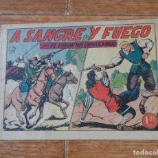 Tebeos: EL ESPADACHIN ENMASCARADO Nº 18 EDITORIAL VALENCIANA ORIGINAL. Lote 197604138