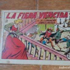 Tebeos: EL ESPADACHIN ENMASCARADO Nº 26 EDITORIAL VALENCIANA ORIGINAL. Lote 197604331