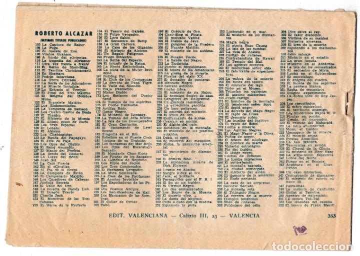 Tebeos: ROBERTO ALCAZAR Y PEDRIN ORIGINAL 353 - Foto 2 - 197690507