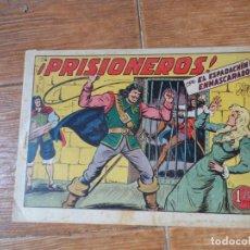 Tebeos: EL ESPADACHIN ENMASCARADO Nº 38 EDITORIAL VALENCIANA ORIGINAL. Lote 197738698