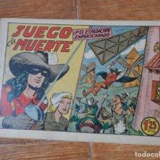 Tebeos: EL ESPADACHIN ENMASCARADO Nº 42 EDITORIAL VALENCIANA ORIGINAL. Lote 197738760