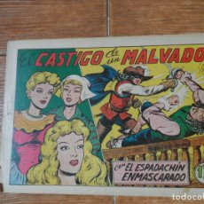 Tebeos: EL ESPADACHIN ENMASCARADO Nº 46 EDITORIAL VALENCIANA ORIGINAL. Lote 197738838