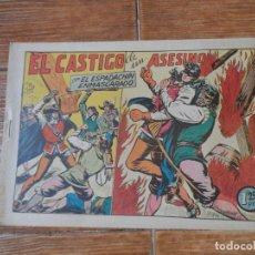 Tebeos: EL ESPADACHIN ENMASCARADO Nº 50 EDITORIAL VALENCIANA ORIGINAL. Lote 197738878