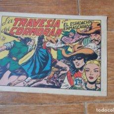 Tebeos: EL ESPADACHIN ENMASCARADO Nº 59 EDITORIAL VALENCIANA ORIGINAL. Lote 197739093